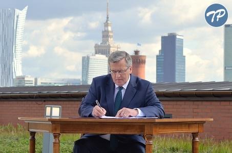 Warszawa. Ustawa krajobrazowa podpisana.