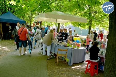 Rodzinny Piknik Integracyjny w parku Szczęśliwickim.