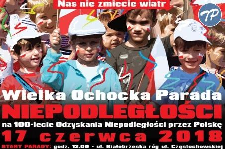 Ochocka Parada Niepodległości.