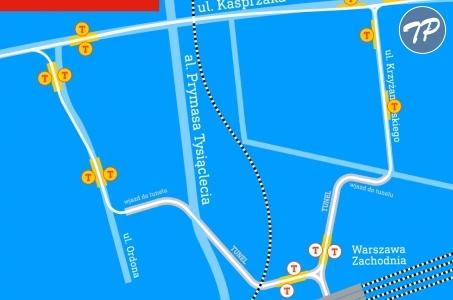 Powstanie trasa tramwajowa do Dworca Zachodniego.