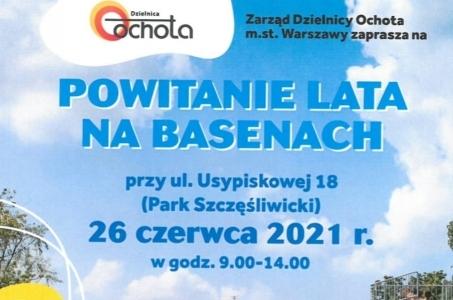 Warszawa-Ochota. Powitanie lata na basenach.
